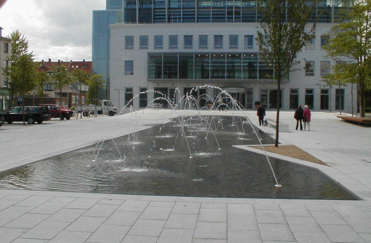Städtebau - Brunnenanlage - Wilhelmshaven
