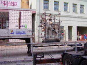 Schlaglichter zur Restaurierung-Naturbaustein