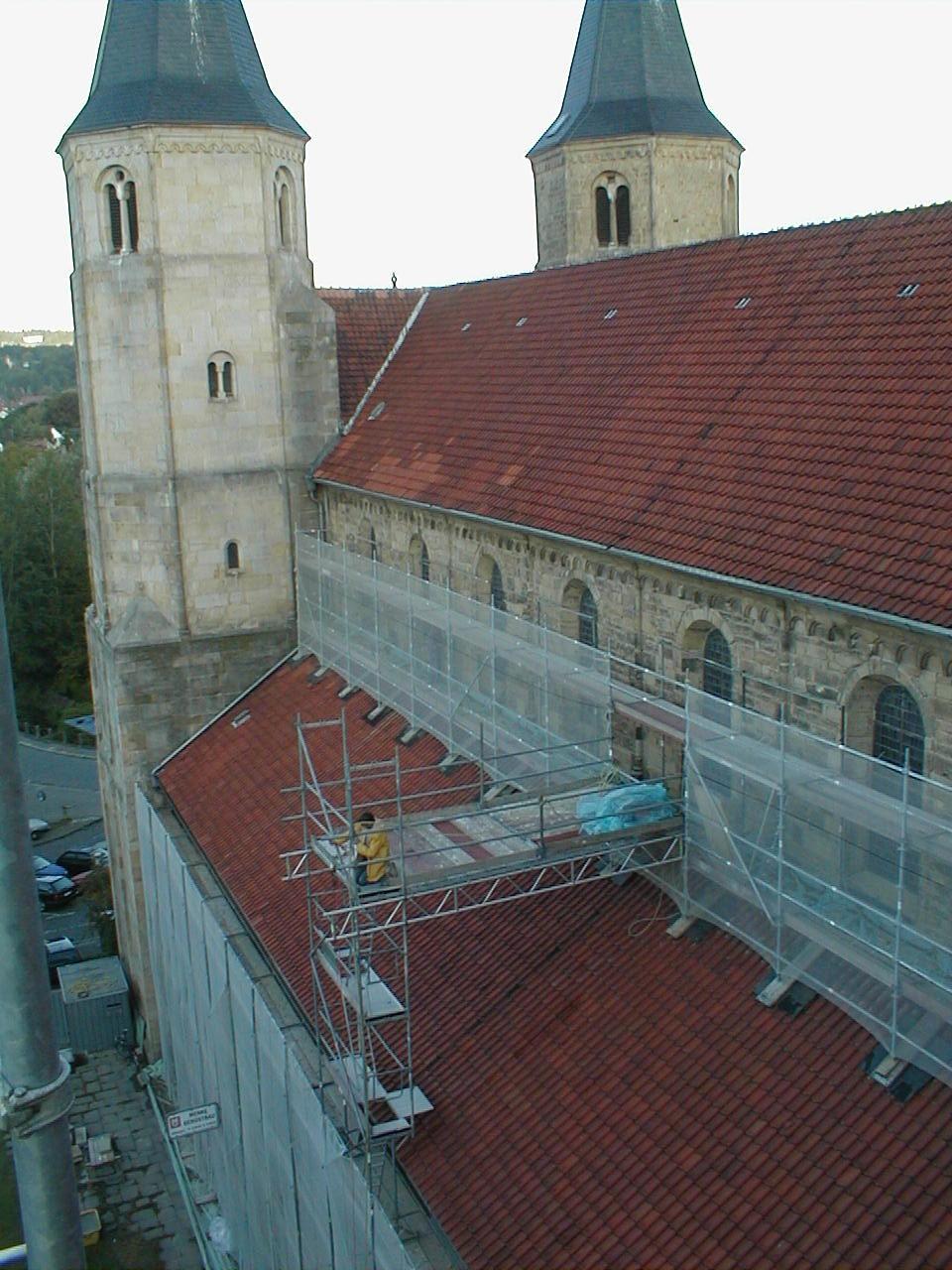 St. Godehard Basilika Hildesheim - Stein Hannover