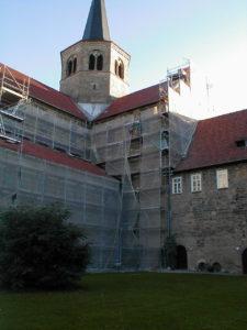 St. Godehard Basilika Hildesheim - Steinmetz
