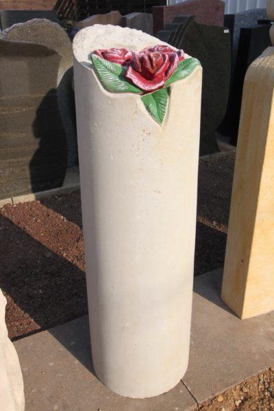 Steinmetz Czaikowski Sandstein Grabmale Blumenornamente Gedenksteine