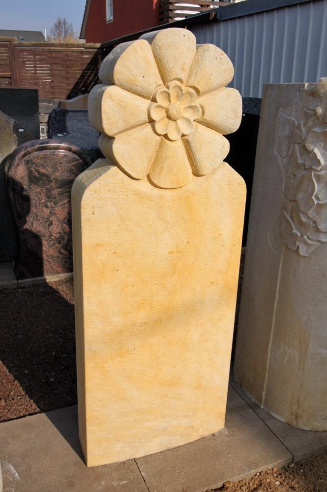 Steinmetz Czaikowski Sandstein Blumenornament Grabmale Gedenksteine
