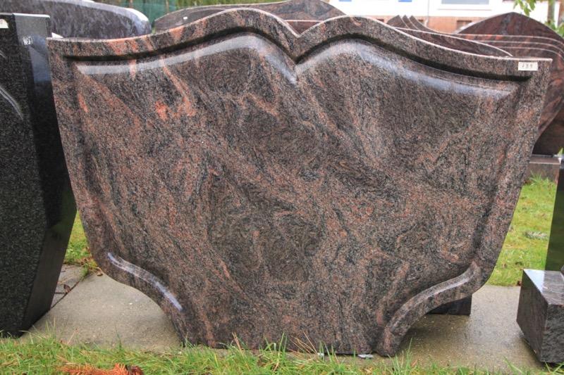 Steinmetz Czaikowski Granit Doppelstein Grabmale Gedenksteine