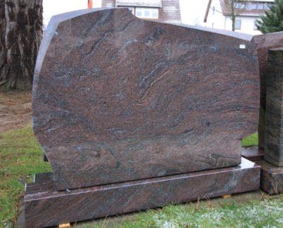 Steinmetz Czaikowski Granit Grabmale Gedenksteine Doppelstein