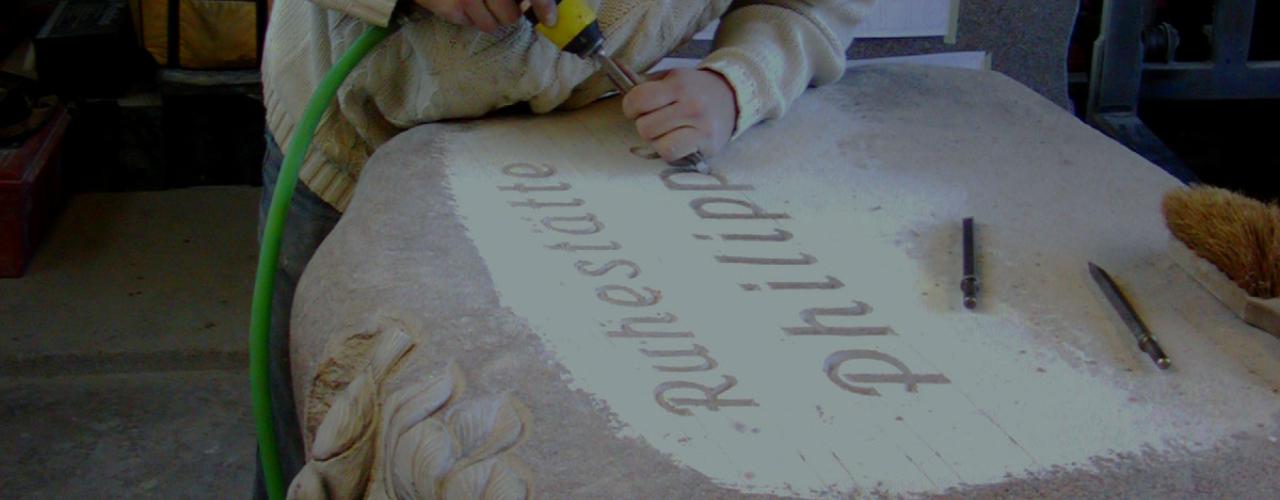 Steinmetz Czaikowski Sider Schriftzug Grabmale Gedenksteine